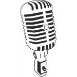 naklejka-mikrofon