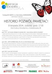 historio pozwol pamietac_ afisz