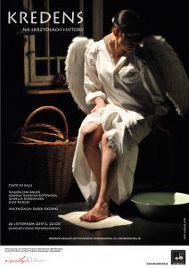 Kredens-Plakat z aniołem
