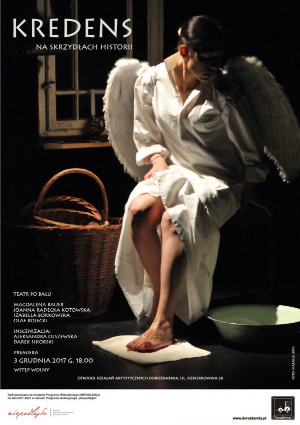 Kredens-Plakat z aniołem i Olą 03.12.2017