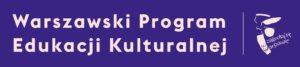 Logotyp Warszawski Program Edukacji Kulturalnej