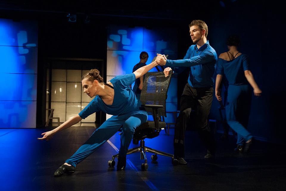 FOTO ze spektaklu CORPODANCE Teatru Tańca TEST
