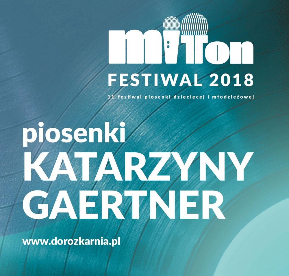 Piosenki KATARZYNY GARTNER okładka płyty CD
