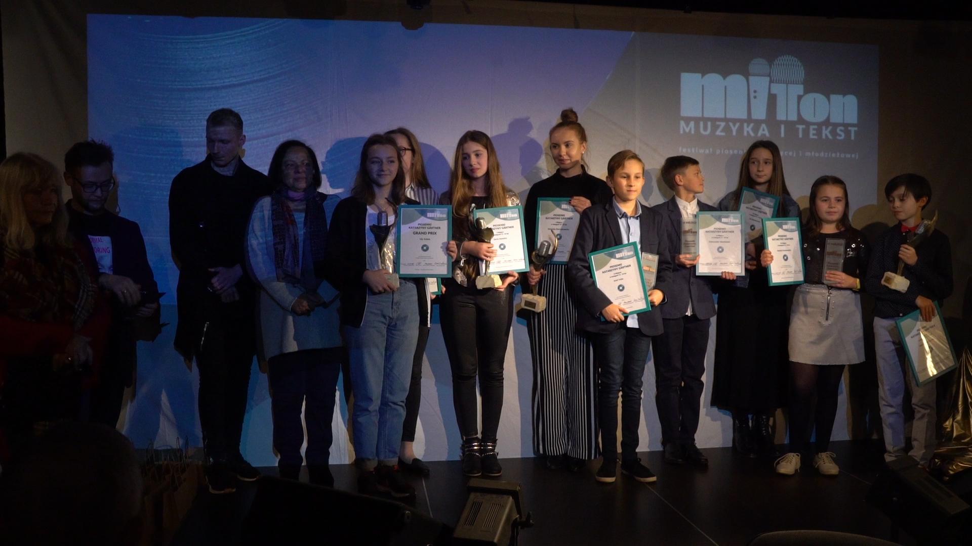 MiT TON Festiwal 2018 laureaci