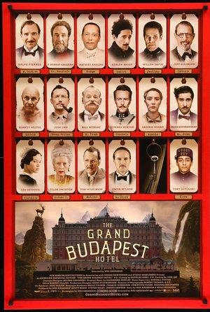 """Zdjęcie przedstawia plakat do filmu """"Grand Budapest Hotel""""/"""