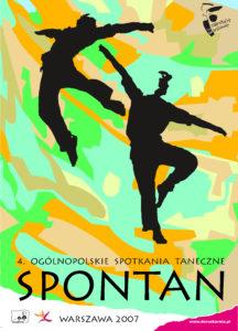 Zdjęcie przedstawia plakat festiwalu Spontan