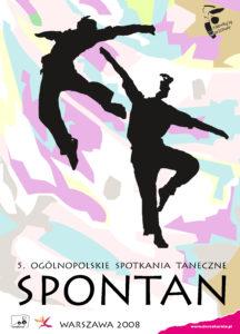 Zdjęcie przedstawia plakat konkursu tanecznego