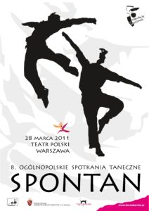 Zdjęcie przedstawia rysunkową postać dwóch tancerzy.
