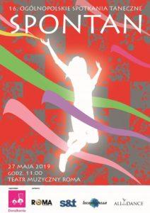 Plakat festiwalu Spontan