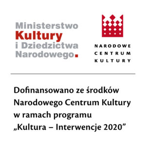 Logotyp programu Kultura Interwencje