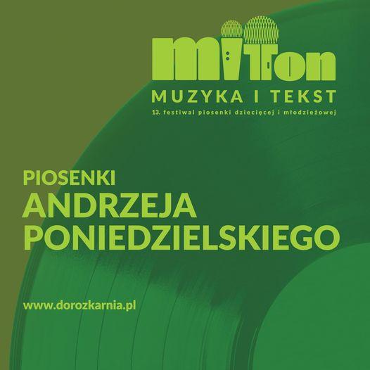 Płyta Andrzeja Poniedzielskiego