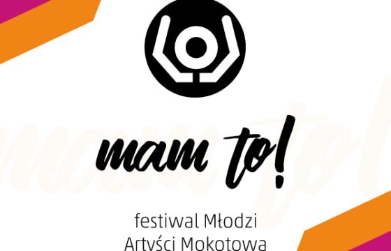 Grafika festiwalu Mam to Młodzi Artyści Mokotowa