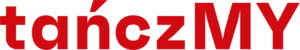 Logotyp - napis tańczMY