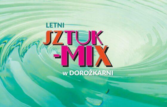 Grafika - logotyp Letni Sztuk-Mix w Dorożkarni